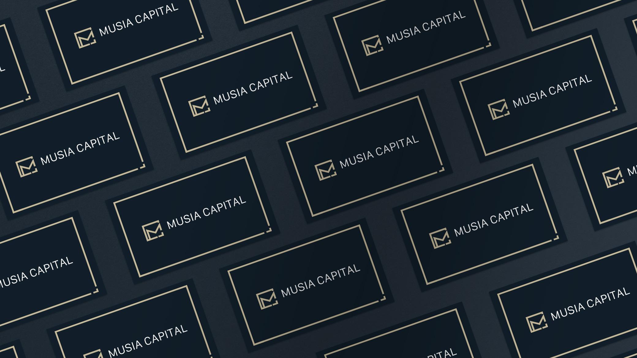 Musia Capital name card
