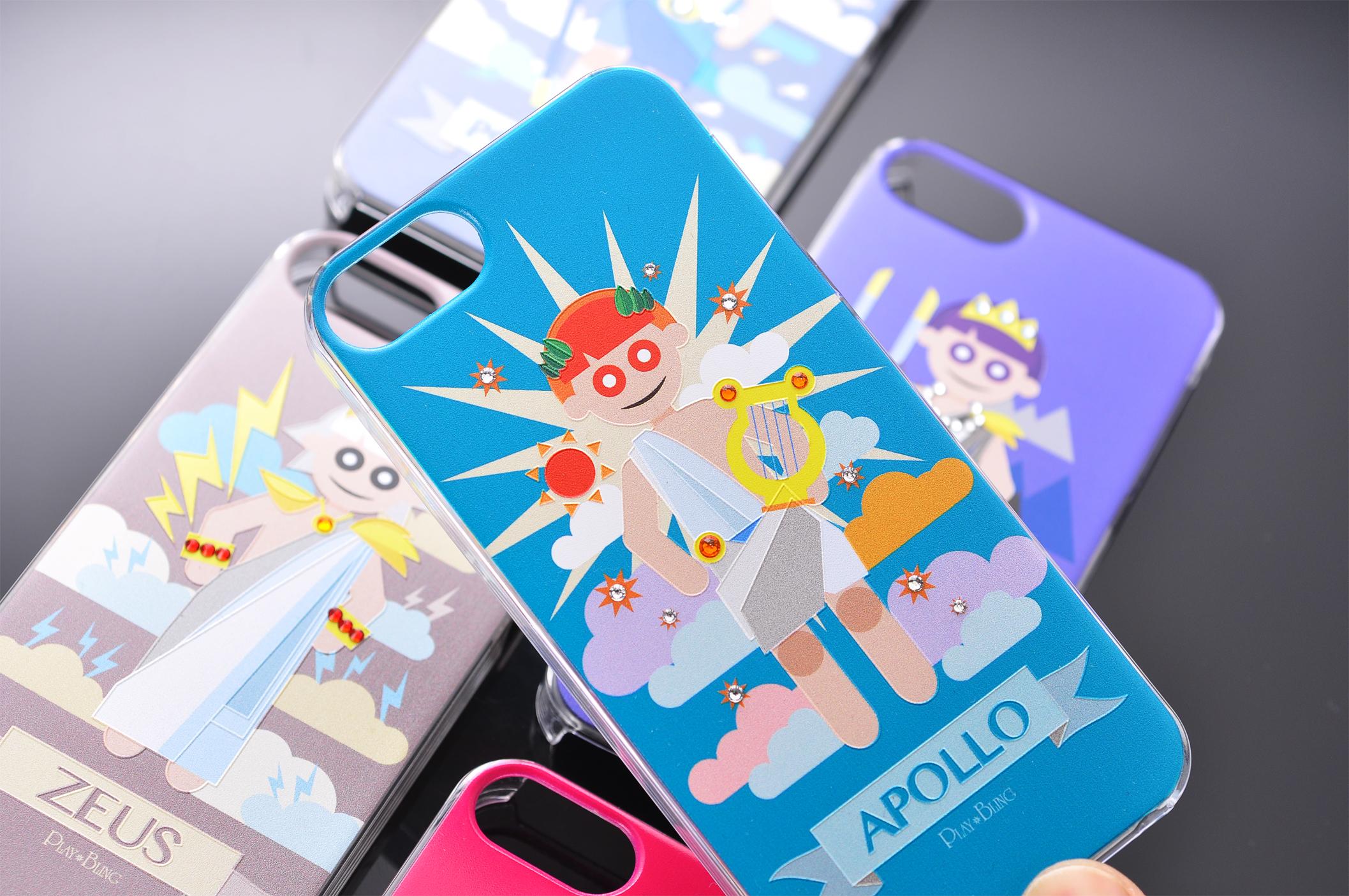 Mobile phone case design - Apollo